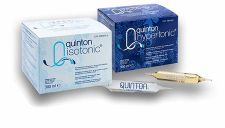Quinton Isotonic Quinton Hypertonic 30 ampułek